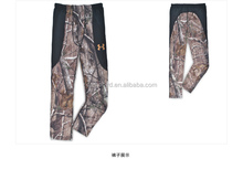 Quick Drying Outdoor Hunting Gear Camo Warm underwear Clothes Camo Fishing Clothing Gear