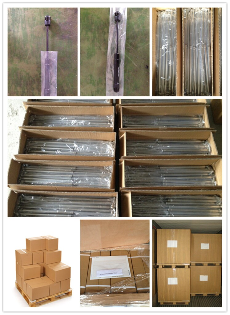 China professional nitrogen pneumatic cylinder gas spring for cabinets(ISO9001:2008)