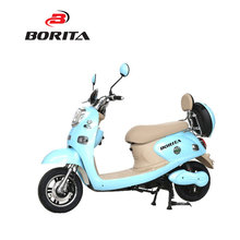Chinese Speed Blue Good Quality Motorcycle Moped