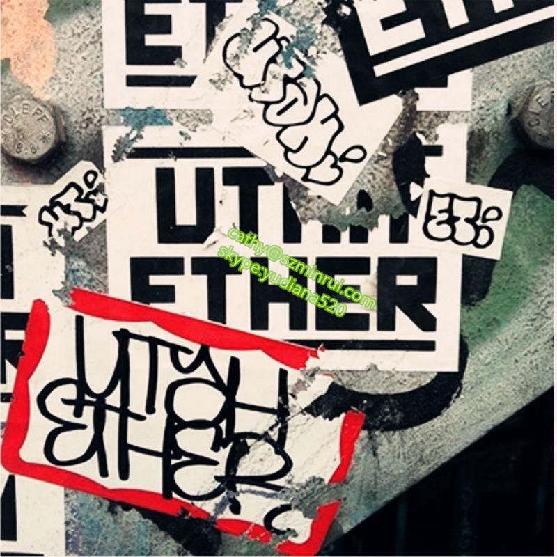 Graffiti Lovers Printing Custom Breakaway Permanent Eggshell - Graffiti custom vinyl stickers