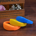 motion sensor led silicone wristbands bracelet, led flashing silicone bracelets with custom logo
