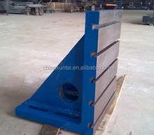 PRECISION GROUND CAST IRON SLOTTED ANGLE PLATE
