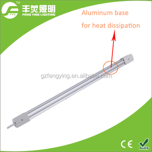 T8 China factory tube light fittings 600mm t8 9w led tube zoo tubes