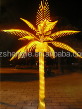 artificial coconut led lights outdoor light up tree branches artificial palm with light