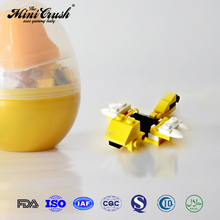 Dinosaur Toy in egg toy surprise with jelly