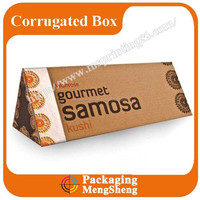 Corrugated Material For Triangular Box And