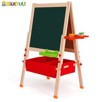 Yiwu magnetic wood board for kids art drawing