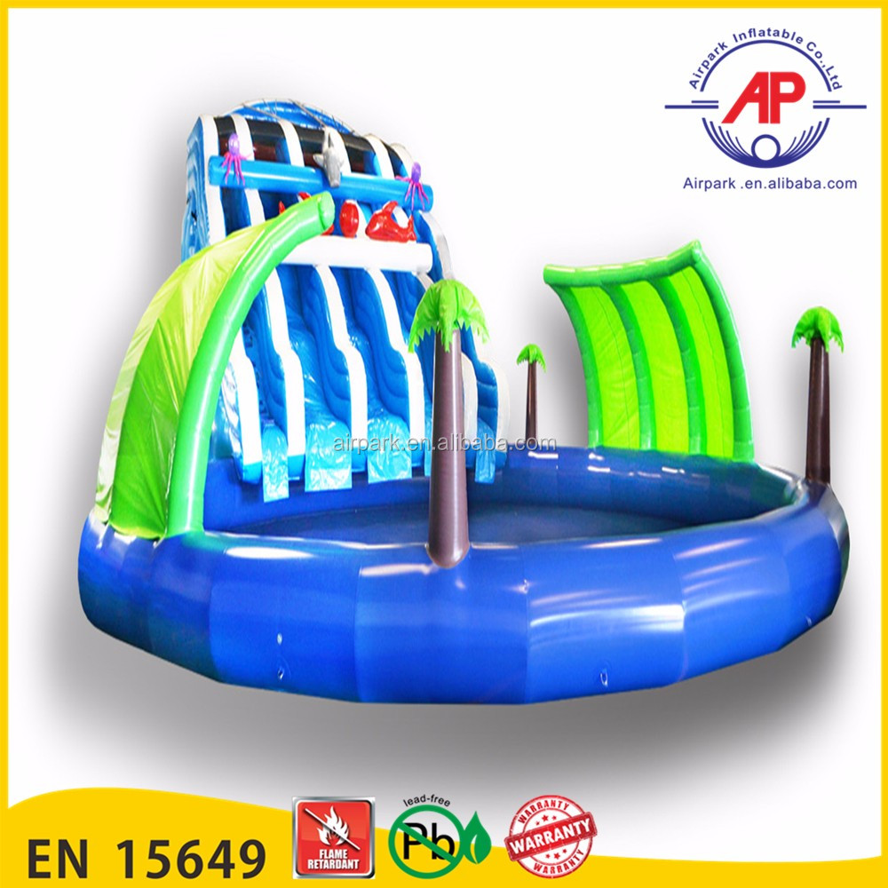 2016 Airpark Big floating inflatable boat swimming pool best selling swimming pool inflatable for playing