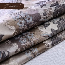 Hotel Sofa Jacquard Upholstery Fabric For Antique Furniture