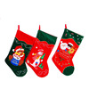 Wholesale custom christmas santa sock decoration