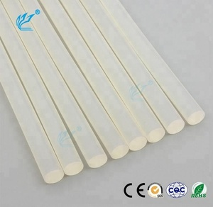 Transparent Silicone Resin Hot Melt Glue Stick 7mm/11mm