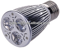 Aluminum Housing E27 led spot light 3x2w with CE ROHS