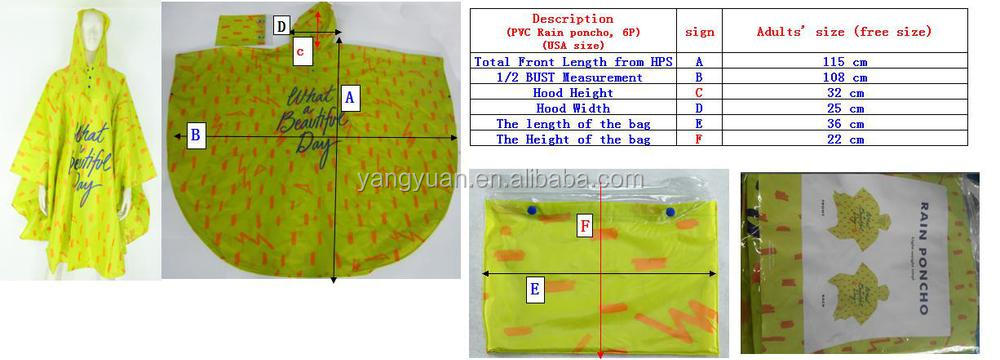 Waterproof Camouflage rain ponchos outdoor