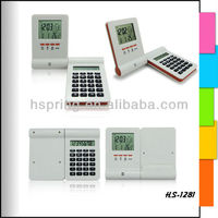 desktop calculator with lcd calendar