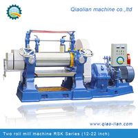 X(S)K-450 Rubber/ Silicone/ Plastics Two Roll Mixing Mill