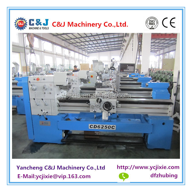 CD6250C Gap Bed Lathe machine