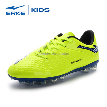 ERKE wholesale brand firm-ground performance ace soccer shoes football cleats