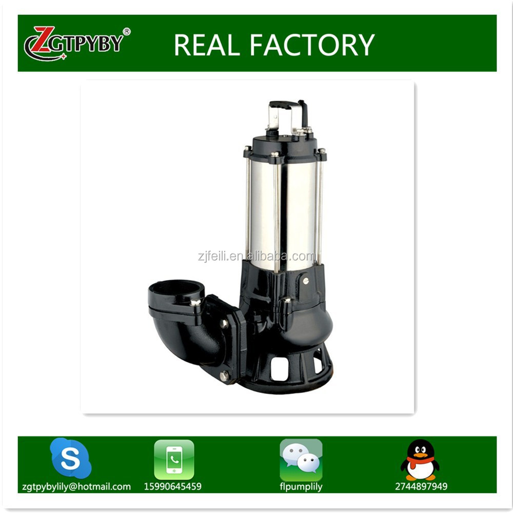 7hp single-stage single-suction no-blocking centrifugal submersible pump