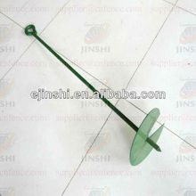 powder coated screw earth anchor for fence