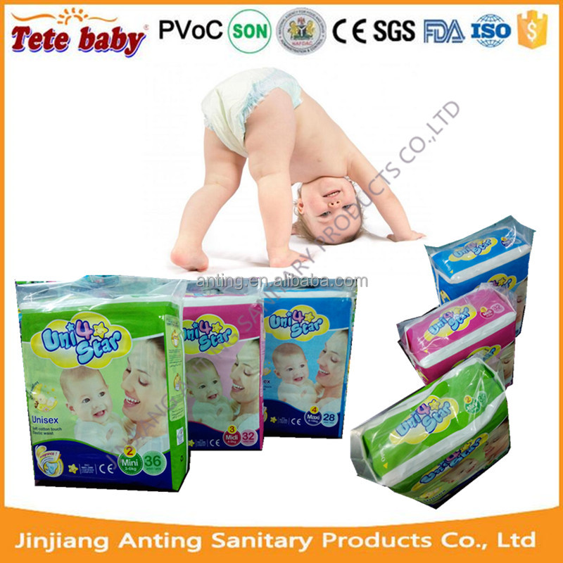 China Baby Care Products Pampering Snug and Dry Disposable Baby