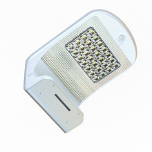Wall mount solar led motion sensor lighting outdoor lamp