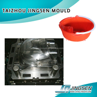 High quality and low cost injection mould plastic bucket pot pail basket mould maker