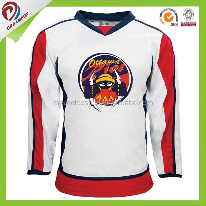 cheap sublimated custom team canada ice hockey jerseys wholesales