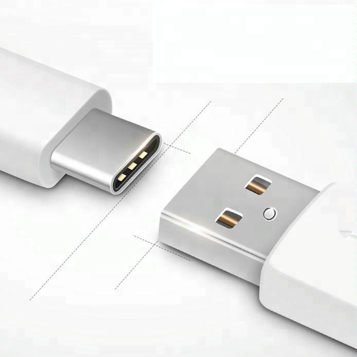 usb charger cable for samsung adapter,type c cable white