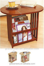 Wooden Side Table Living Room Cabinet