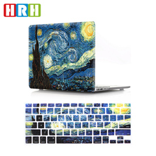 2 in 1 silicone keyboard cover and hard case for macbook air pro retina 12 13 15 17