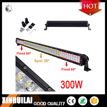 "300W Double row 50"" offroad led light bar"