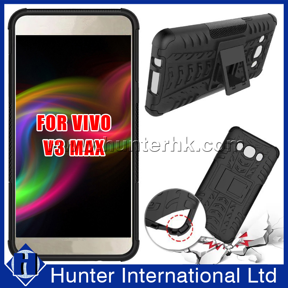 Shock Proof Stand Hard Case For VIVO V3 Max
