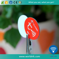 Free Samples Custom Printing ISO14443A Programmable and Rewriteable NFC Ultralight C RFID Tag