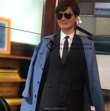 Customed Vivid Lifesize Wax Figure of Celebrity Chow Yun-fat Waxworks