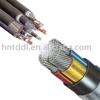 0.6/1kV Power Cable Mutli-cores Cu/PVC/PVC power cable