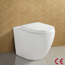 Soft Closing PP Seat Cover Sanitary Ware Ceramic P Trap WC