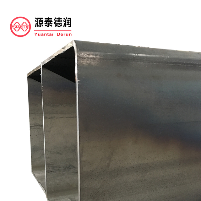 big size structure carbon black or galvanized square steel pipe, price in China