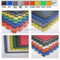 pvc plastic vinyl hot sale garage gym show room workshop warehouse interlocking floor tile mat