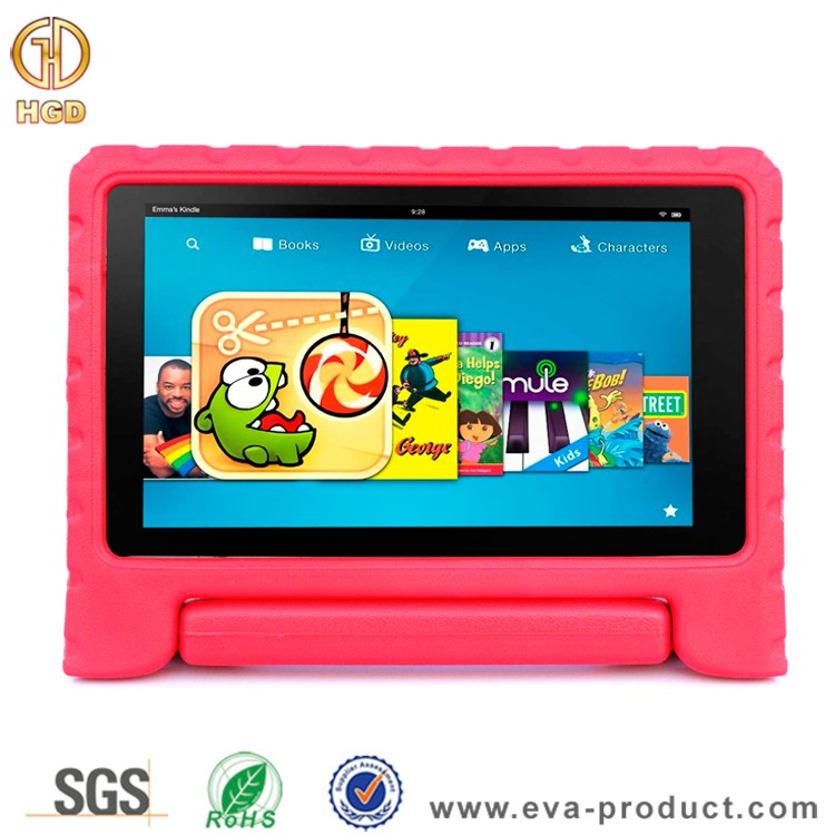 Kids Friendly Eva Foam Protective Case For Amazon Fire HD 8 2015 5th Generation