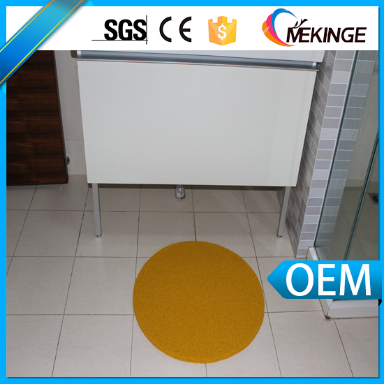 Custom fireproof non-slip bathroom floor mat