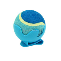 snaps clip on the belt for tennis ball sports for dog chewing