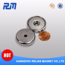 Free sample customized cheap small monopole magnet for sale