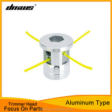 Grass cutting machine parts aluminium trimmer head