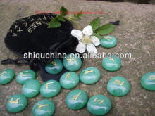 fashion green divinaton runes for wicca
