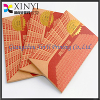 2014 hot sale brown kraft paper card for package