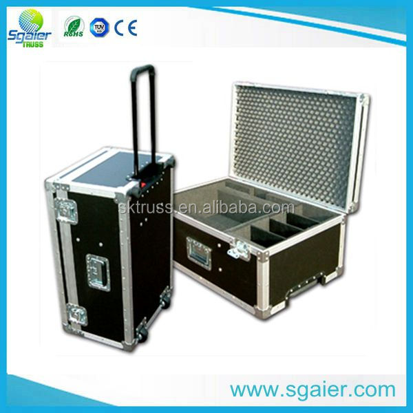 Rolling Trolley Aluminum Tool Cases,Aluminum Carrying Case With Wheels
