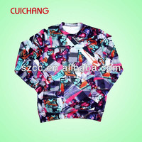 Full polyester sublimation printed Autumn sweater