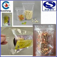 china manufacture plastic clear stand up packaging bags for coffee seeds tea snacks