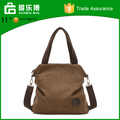 Alibaba supplier best selling factory custom canvas tote bag shoulder long strap