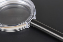 Hand-held magnifying, portable magnifying glass, reading glass with OEM